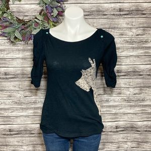 Postmark by Anthropologie Scottie Tee